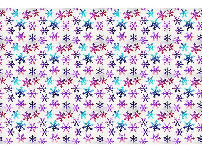 Designtapete Eiskristalle
