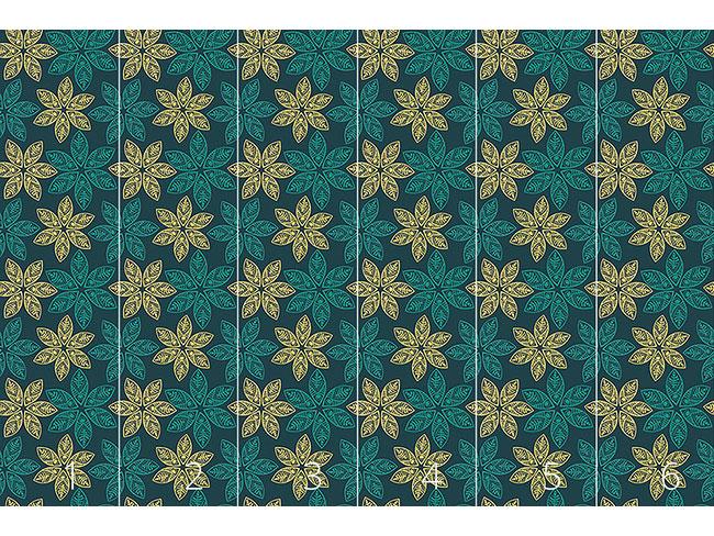 Designtapete Samoa Floral
