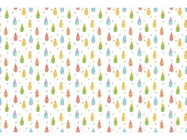 Designtapete Erfrischende Regentropfen