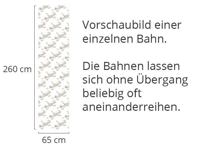 Designtapete Freiflug