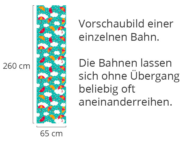 Designtapete Die Regenschirme Von Salzburg