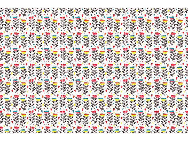 Designtapete In Julias Blumengarten