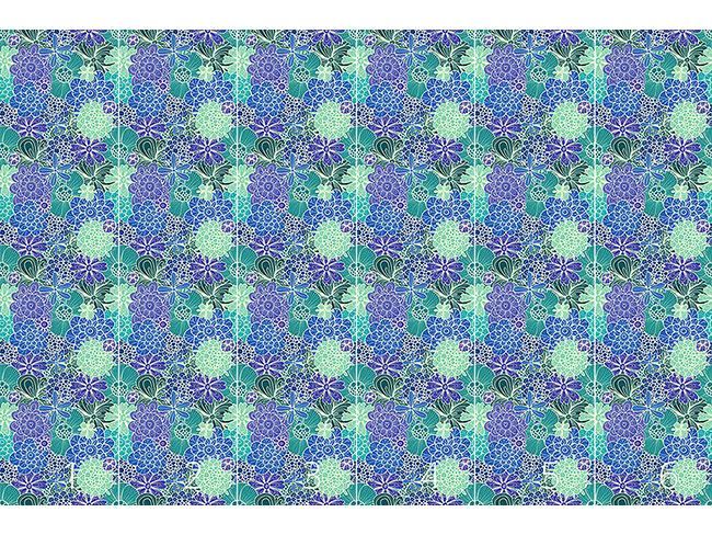 Designtapete Blumen Für Rusalka
