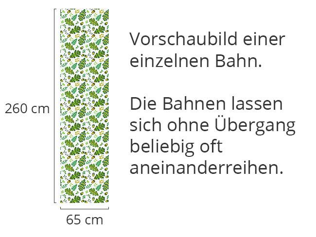 Designtapete Eichel Und Blatt Im Prager Frühling