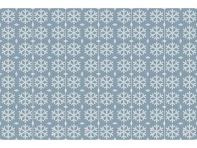 Designtapete Winterliche Flocken