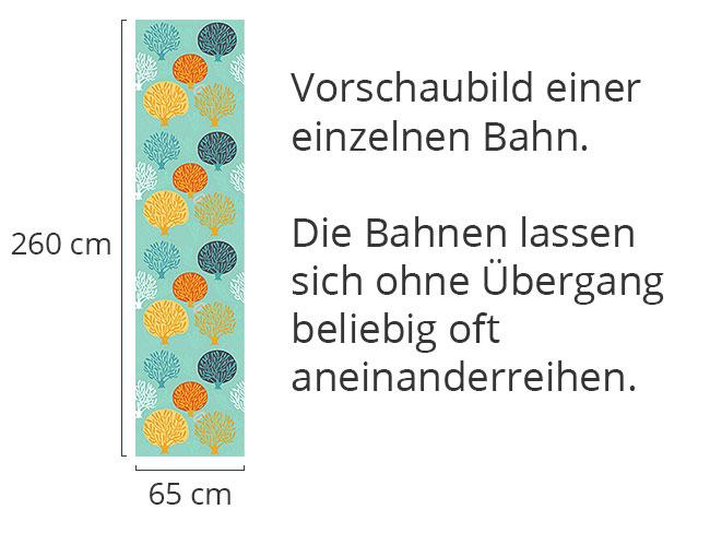 Designtapete Baumschule Im Winter