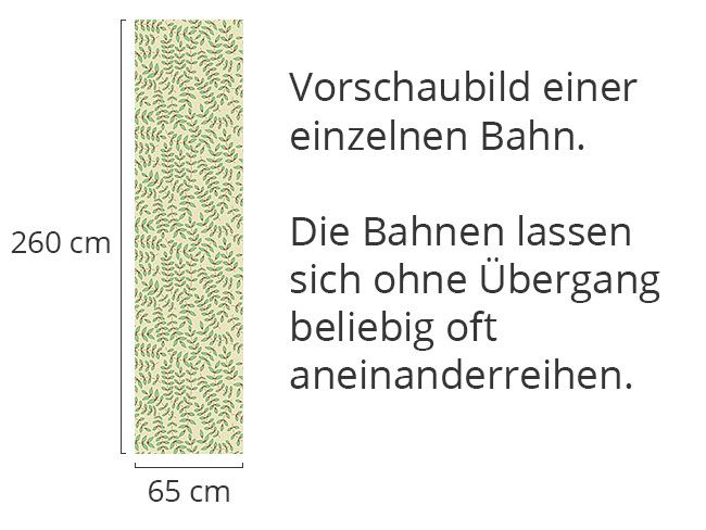 Designtapete Schönblatt
