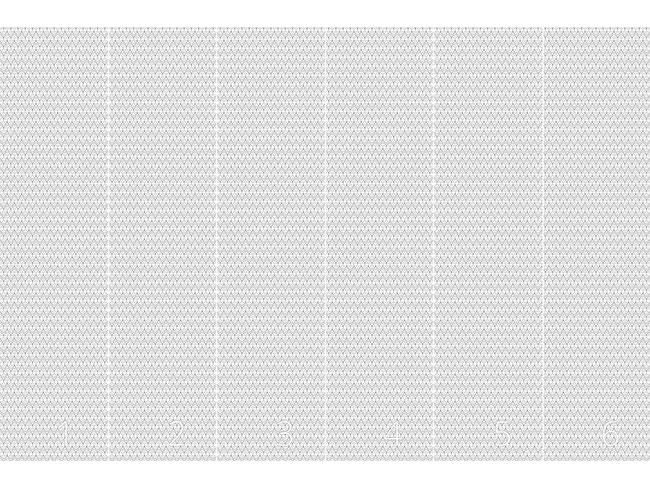 Designtapete Halbkreise Schlängeln