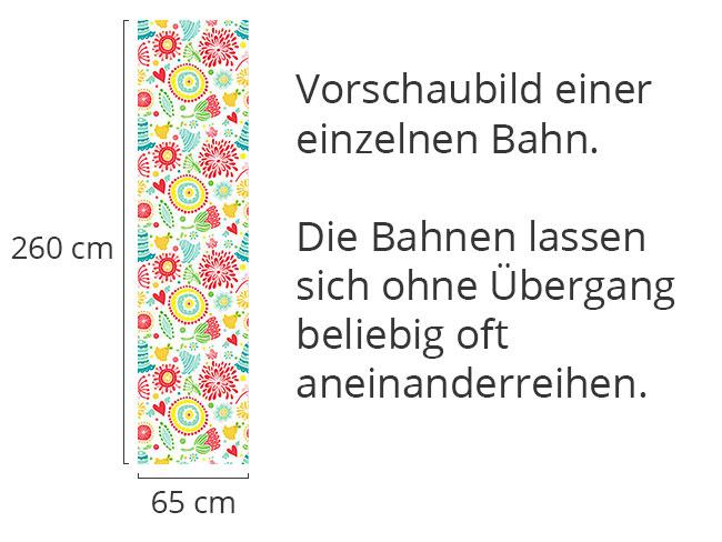 Designtapete Blümchen Freude
