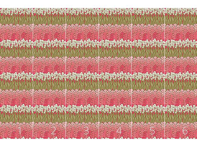 Designtapete Muttis Blumenbeet