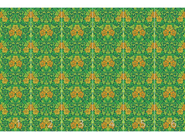Designtapete Der Prachtgarten