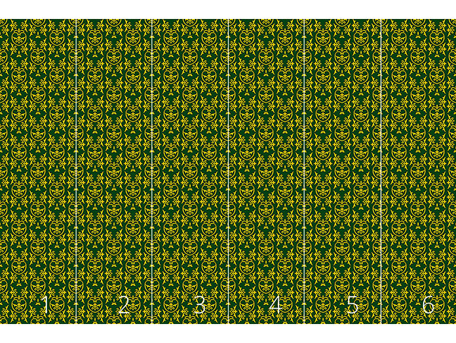 Designtapete Granatapfel Medieval