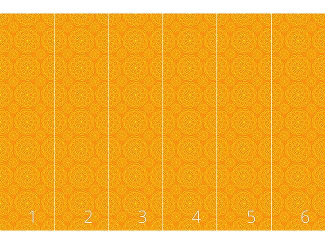 Designtapete Blumen Auf Meinem Sommer Sari