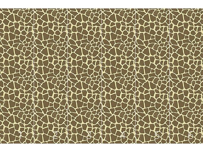 Designtapete Giraffe Im Sand