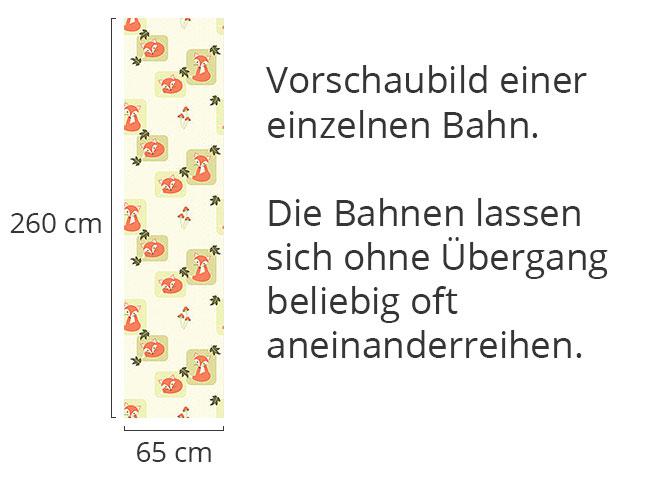 Designtapete Das Schlaue Füchslein