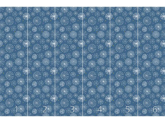 Designtapete Zauberhafte Kristall Kreise