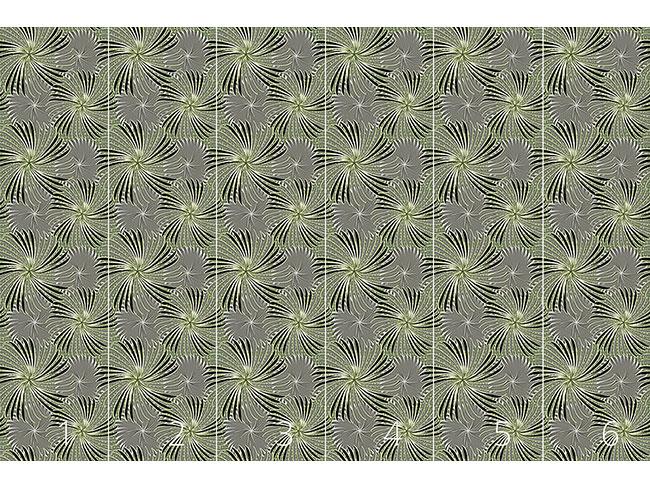Designtapete Radschlagen In Grau