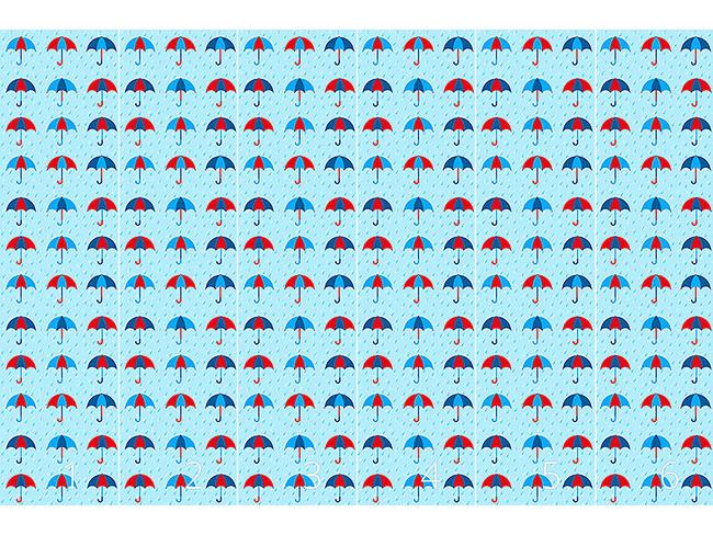 Designtapete Les Parapluis En Hiver