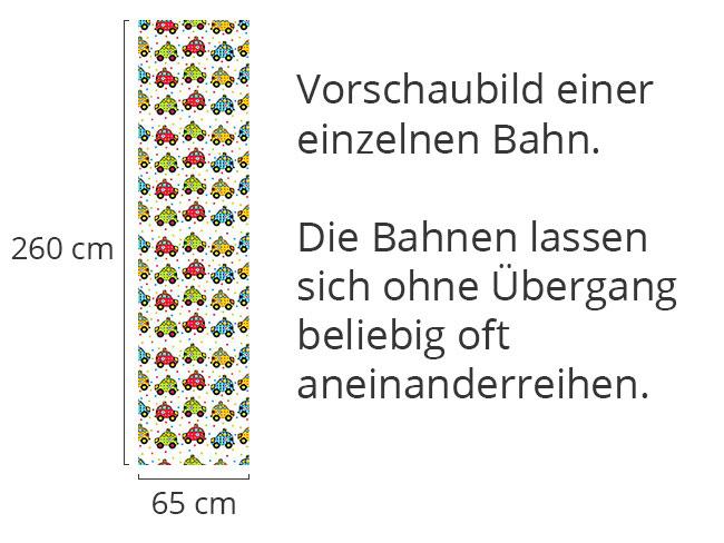 Designtapete Rettungsauto Mit Herz