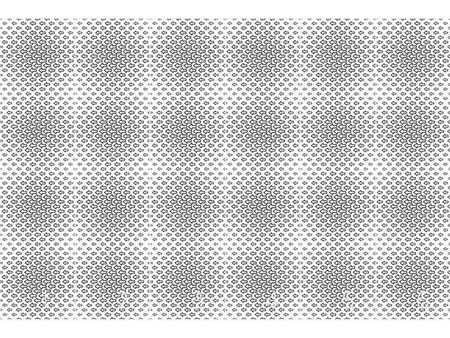 Designtapete Pfeile Schwärmen Nach Links