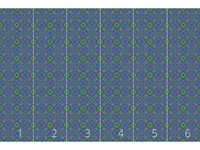 Designtapete Mystisches Kaleidoskop