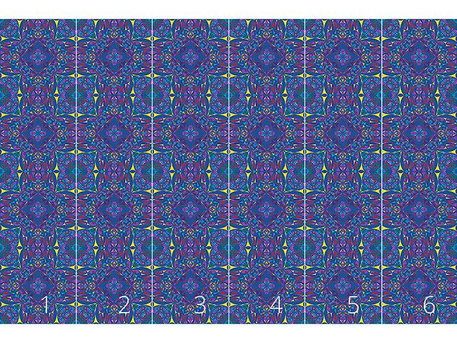 Designtapete Kaleidoskop Splitter