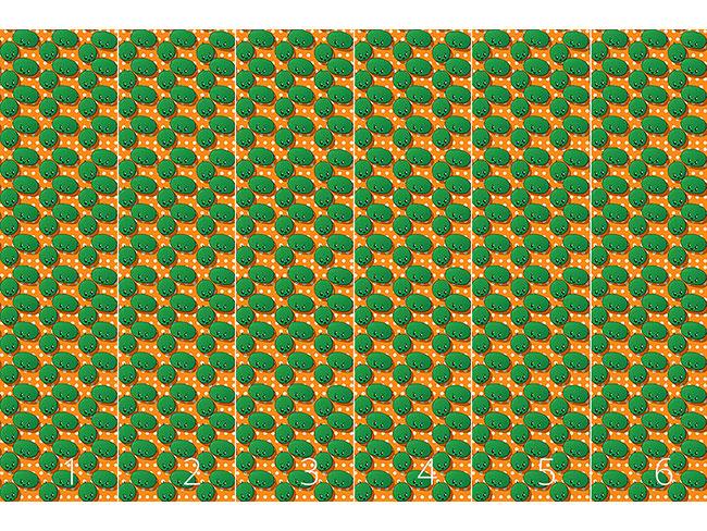 Designtapete Kawaii Wassermelone