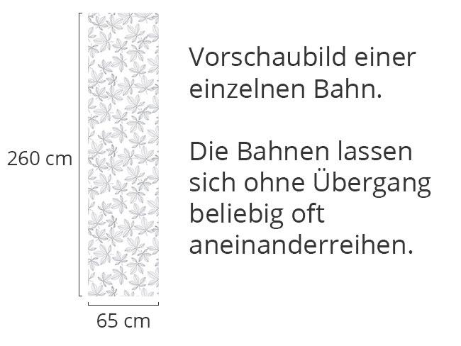 Designtapete Von Kastanienblättern Träumen