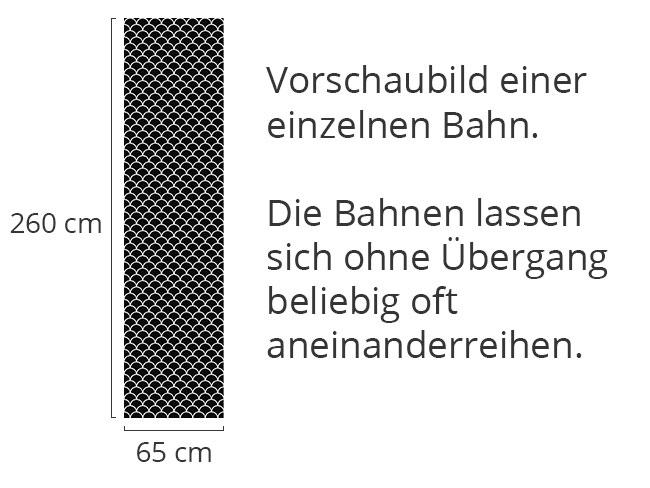 Designtapete Halbkreis Rätsel