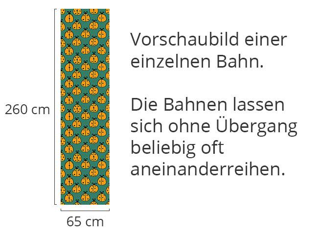 Designtapete Marienkäfer Zählen