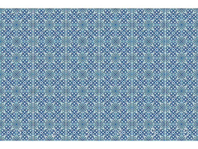 Designtapete Das Stern Mosaik