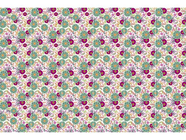 Designtapete Florale Illusion