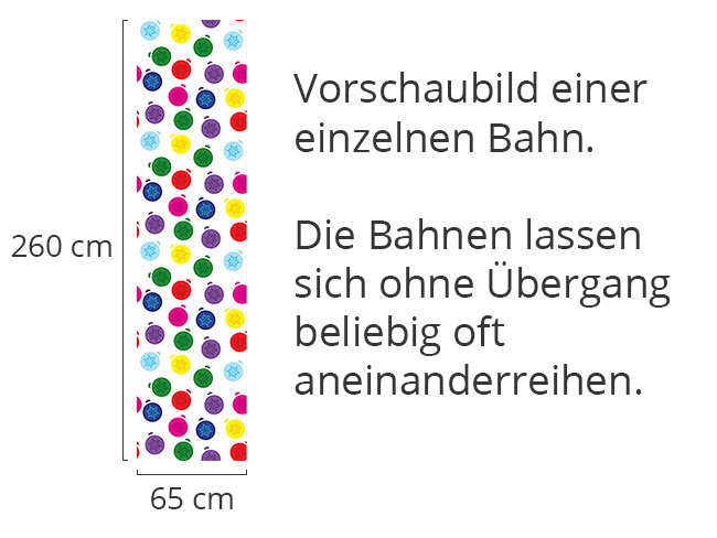 Designtapete Spass Mit Christbaum Kugeln