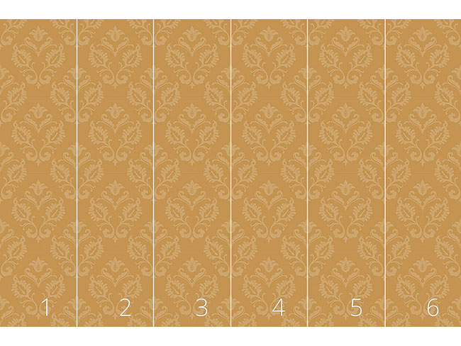 Designtapete Aramis Gold