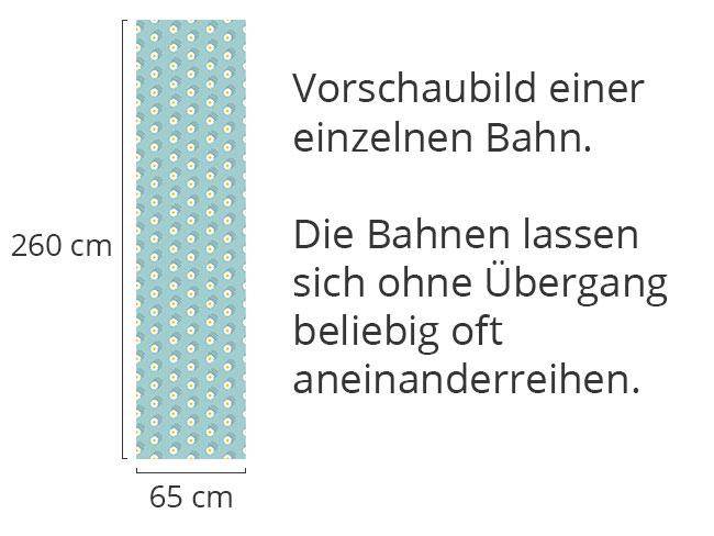 Designtapete Feld Von Gänseblümchen