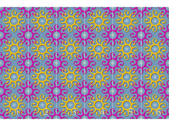 Designtapete Verbindungen Der Sonne