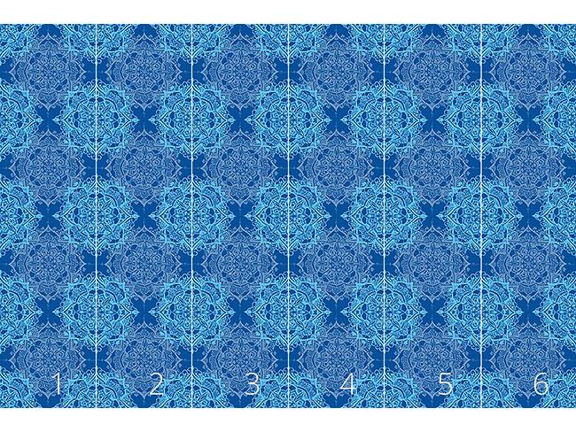 Designtapete Neptun Mandala