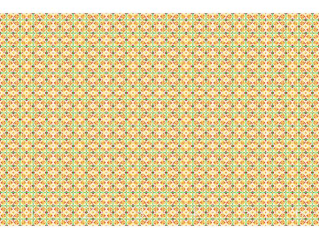 Designtapete Papier Mosaik