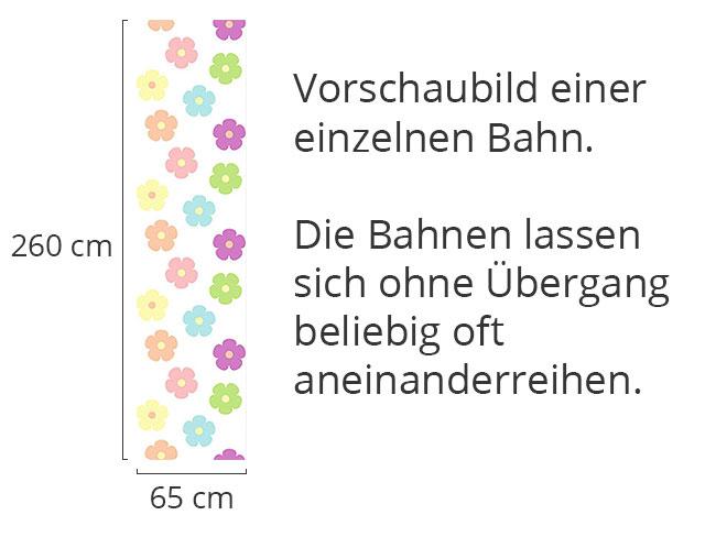 Designtapete Liebes Blümchen