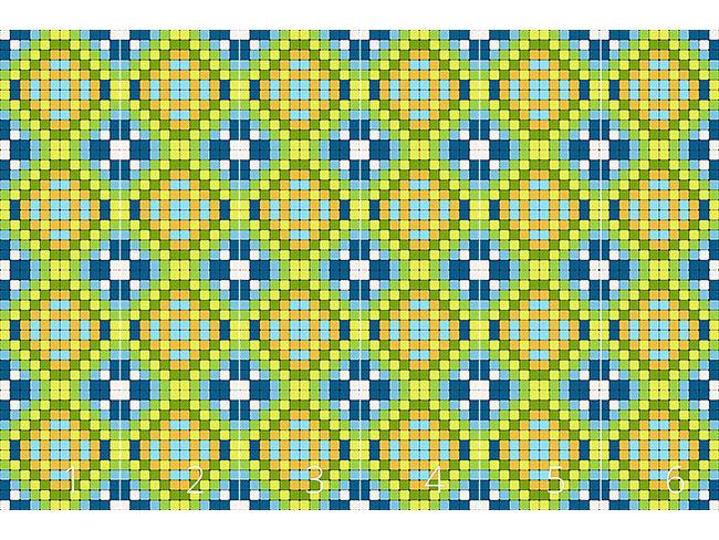 Designtapete Steinfliesen Mosaik