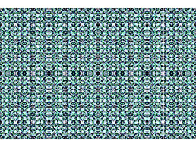 Designtapete Mosaik Dimension