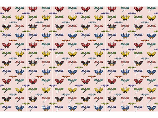 Designtapete Schmetterlings Zauber