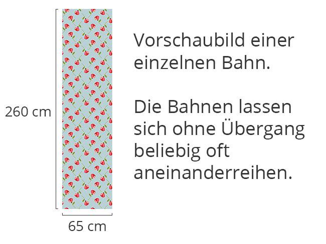 Designtapete Kleine Röschen