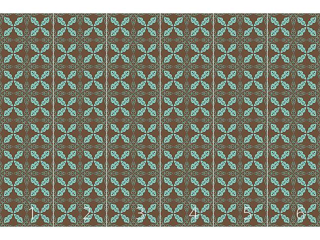 Designtapete Marokkanische Minze