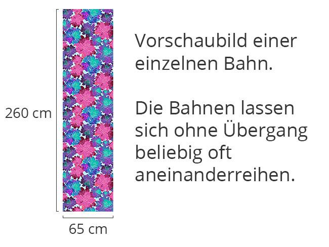 Designtapete Blumenmeer