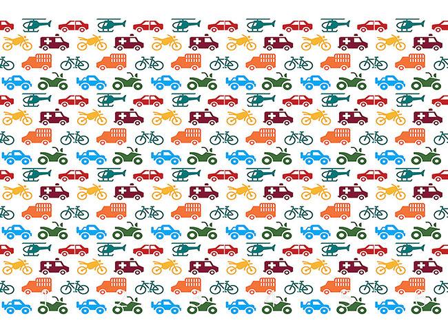 Designtapete Fahrzeuge