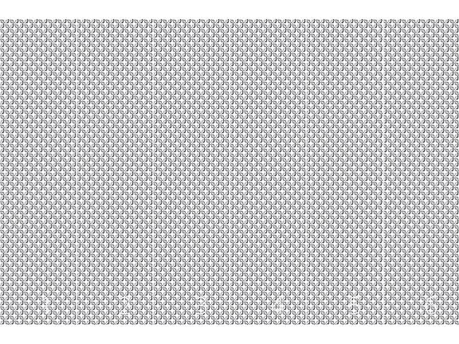 Designtapete Verkettete Quadrate