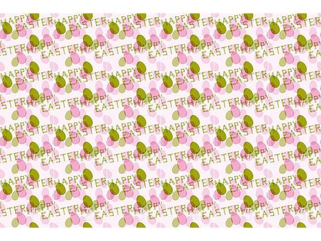 Designtapete Frohe Ostern Grün