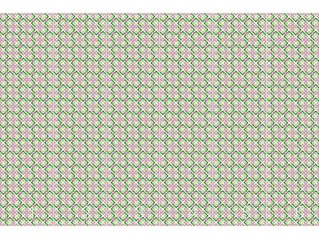 Designtapete Abstrakte Rosen