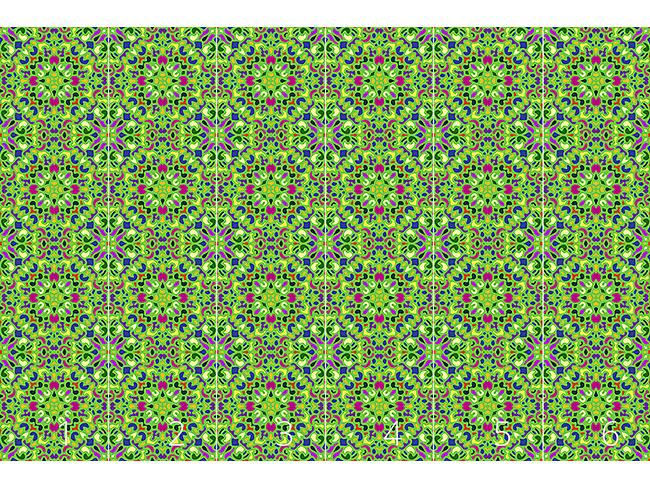 Designtapete Orientalisches Mosaik